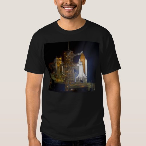 The Space Shuttle Discovery at Launch Pad 39A Shirts