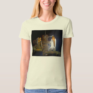 The Space Shuttle Discovery at Launch Pad 39A T-Shirt