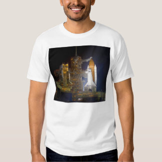 The Space Shuttle Discovery at Launch Pad 39A Tee Shirt