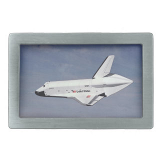 The Space Shuttle Returning Home Belt Buckle