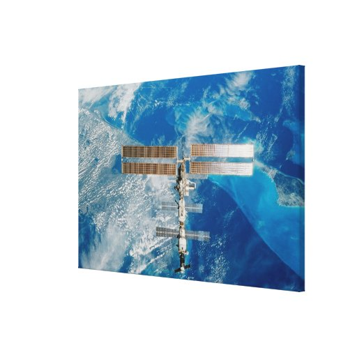 The Space Station Gallery Wrap Canvas