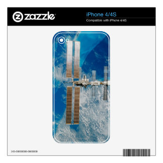 The Space Station iPhone 4 Decal