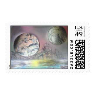 The Space Station Postage Stamp