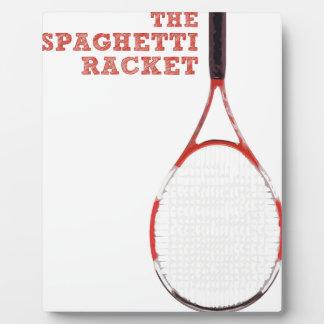 The Spaghetti Racket Display Plaques