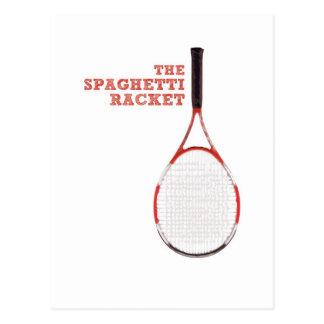 The Spaghetti Racket Post Card