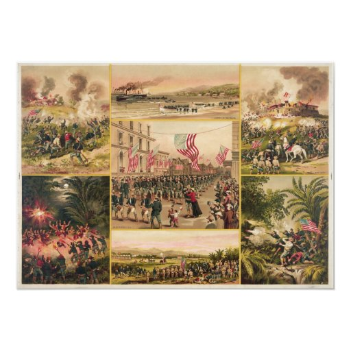 The Spanish American War by Hoover Invites