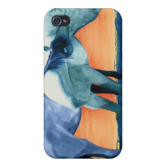 The Spanish Barbs - horses iPhone 4 Cases