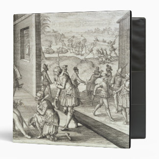The Spanish Capture Fort Caroline, 1565, from 'New 3 Ring Binder