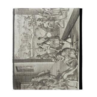 The Spanish Capture Fort Caroline, 1565, from 'New iPad Folio Cover