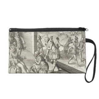 The Spanish Capture Fort Caroline, 1565, from 'New Wristlet Purse