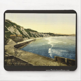The Spanish coast, Biarritz, Pyrenees, France clas Mouse Pad