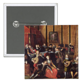 The Spanish Concert or, The Gallant Rest Pinback Button