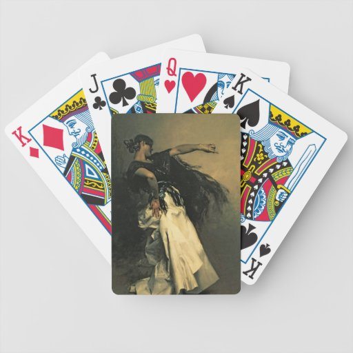 The Spanish Dancer, study for 'El Jaleo', 1882 Bicycle Playing Cards