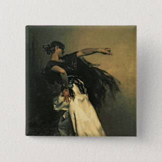 The Spanish Dancer, study for 'El Jaleo', 1882 Button