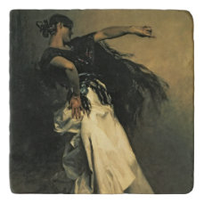The Spanish Dancer, study for 'El Jaleo', 1882 Trivet