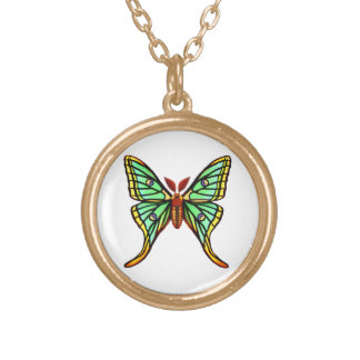 The Spanish Moon Moth Necklace