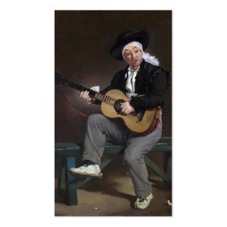 The Spanish Singer - Édouard Manet Business Card