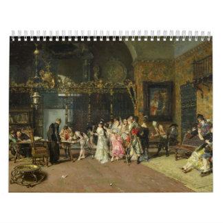 The Spanish Wedding La Vicaría by Mariano Fortuny Calendar
