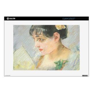 "The Spanish Woman (pastel on paper) 15"" Laptop Skin"