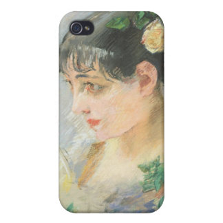 The Spanish Woman (pastel on paper) iPhone 4 Cover