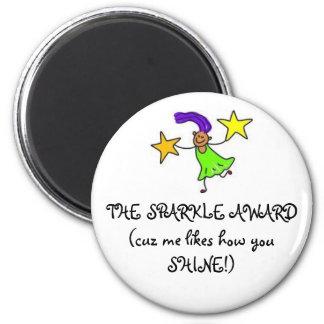 THE SPARKLE AWARD(cuz me likes how y... Magnet