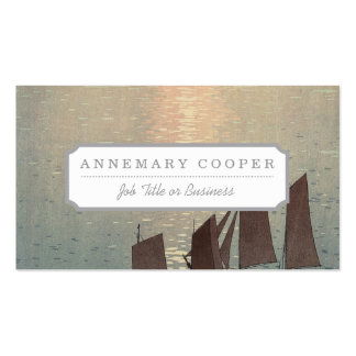 The Sparkling Sea. Business Card
