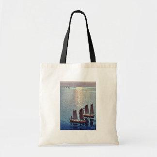 The sparkling sea by Yoshida, Hiroshi Ukiyoe Budget Tote Bag