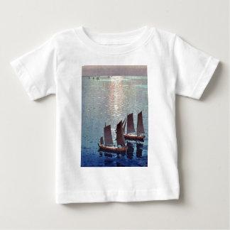 The sparkling sea by Yoshida, Hiroshi Ukiyoe Shirt