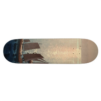 The Sparkling Sea. Skateboard