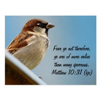 The Sparrow Postcard