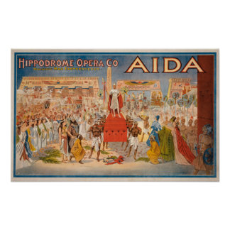 The Spectacle Aida Theatrical Poster