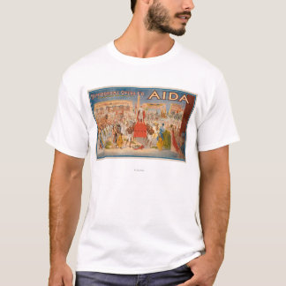 The Spectacle Aida Theatrical Poster T-Shirt