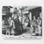The Spectacles Seller, engraved by Jan Collaert Mouse Pad
