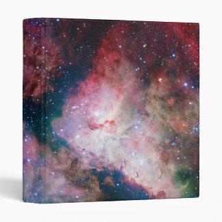 The spectacular star-forming Carina Nebula 3 Ring Binder