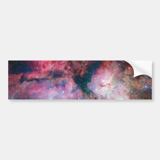 The spectacular star-forming Carina Nebula Bumper Stickers