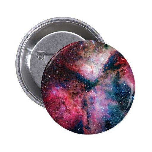 The spectacular star-forming Carina Nebula Pinback Buttons