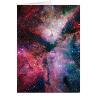 The spectacular star-forming Carina Nebula Card