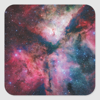 The spectacular star-forming Carina Nebula Square Sticker