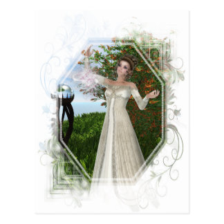 'The Spell' D2 - Mother Nature/Witch Series Postcard