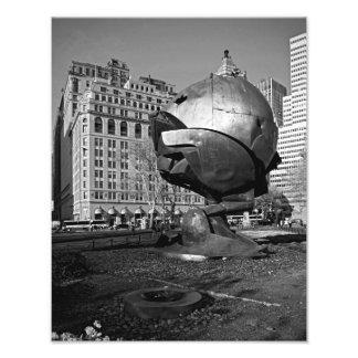 The Sphere B&W PHOTO PRINT