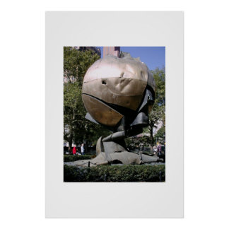 The Sphere in New York City  Poster
