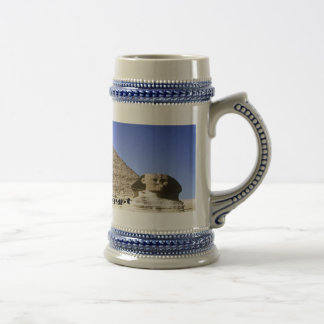 The Sphinx and Pyramid Beer Stein