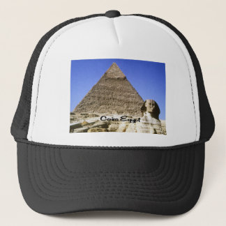 The Sphinx and Pyramid Trucker Hat