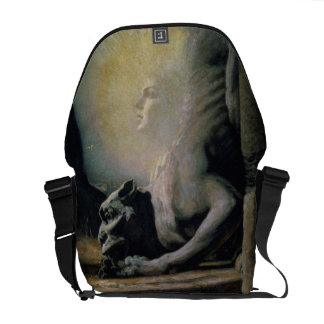 The Sphinx and the Chimera, 1906 (oil on canvas) Courier Bag
