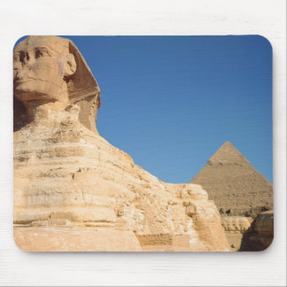 The Sphinx and The Pyramid of Khafre, Giza Mouse Pad