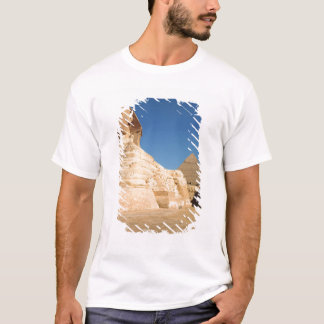 The Sphinx and The Pyramid of Khafre, Giza T-Shirt