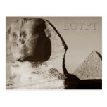 The Sphinx and the Pyramid of Menkaure, Egypt Postcards