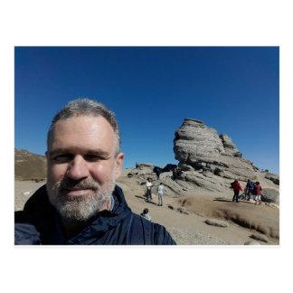 The Sphinx, Bucegi Mountains, Romania (design #2) Postcard