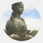 The Sphinx Classic Round Sticker