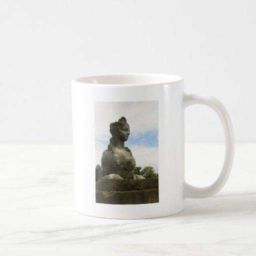The Sphinx Classic White Coffee Mug